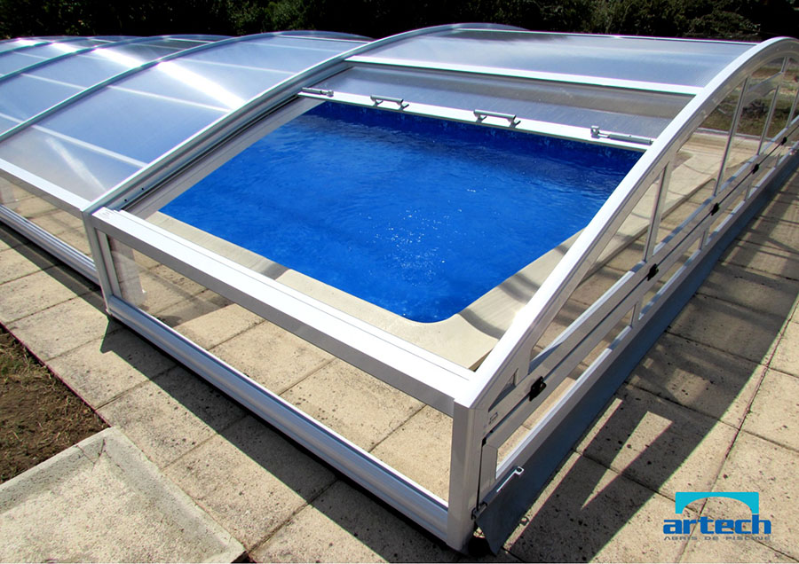 Abris artech fabricant abris de piscine toulouse midi for Abri de piscine bas