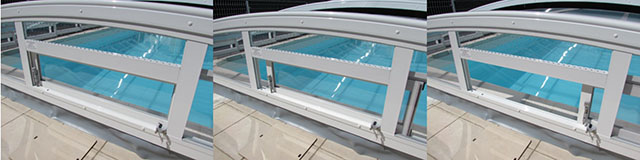 Ventiler un abri de piscine