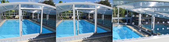 Aérer un abri de piscine