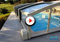 Artech abri piscine motorisé