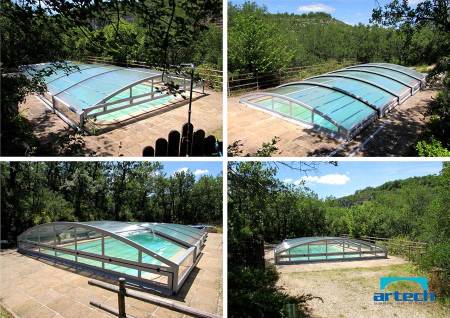Abris artech fabricant abris de piscine toulouse midi for Abris bas piscine