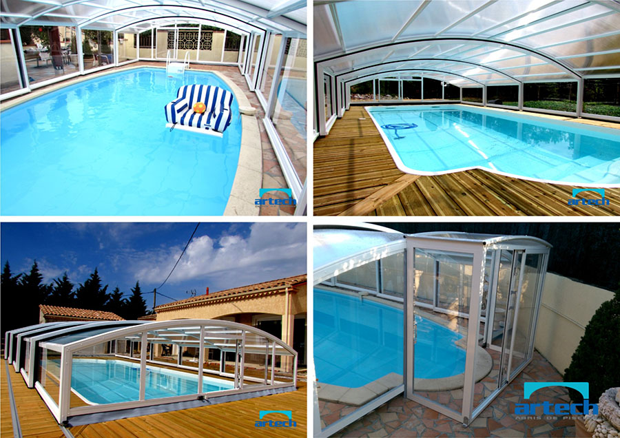 Abris artech fabricant abris de piscine toulouse midi for Abri de piscine semi haut