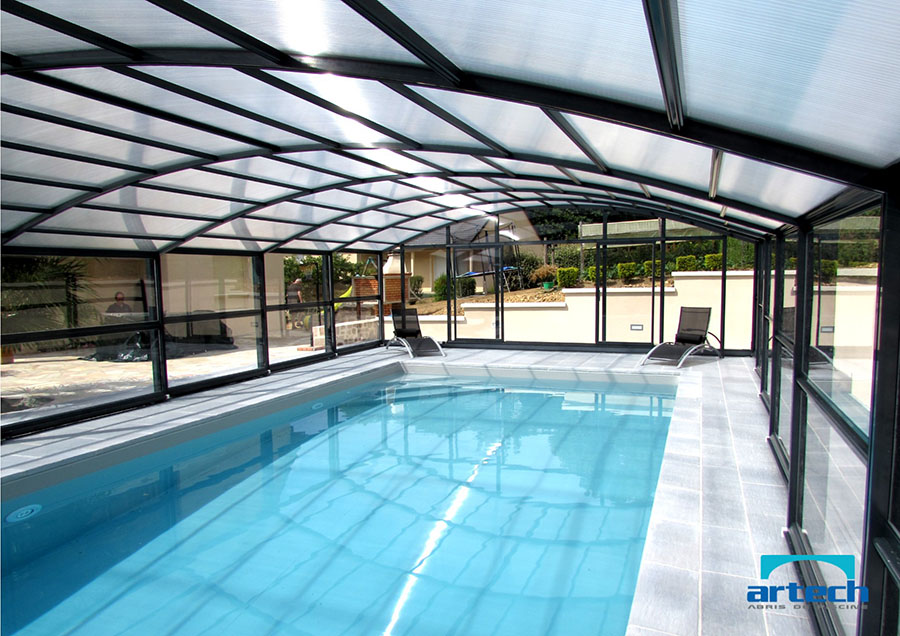 Abris artech photos abris de piscine artech for Abris de piscine occasion