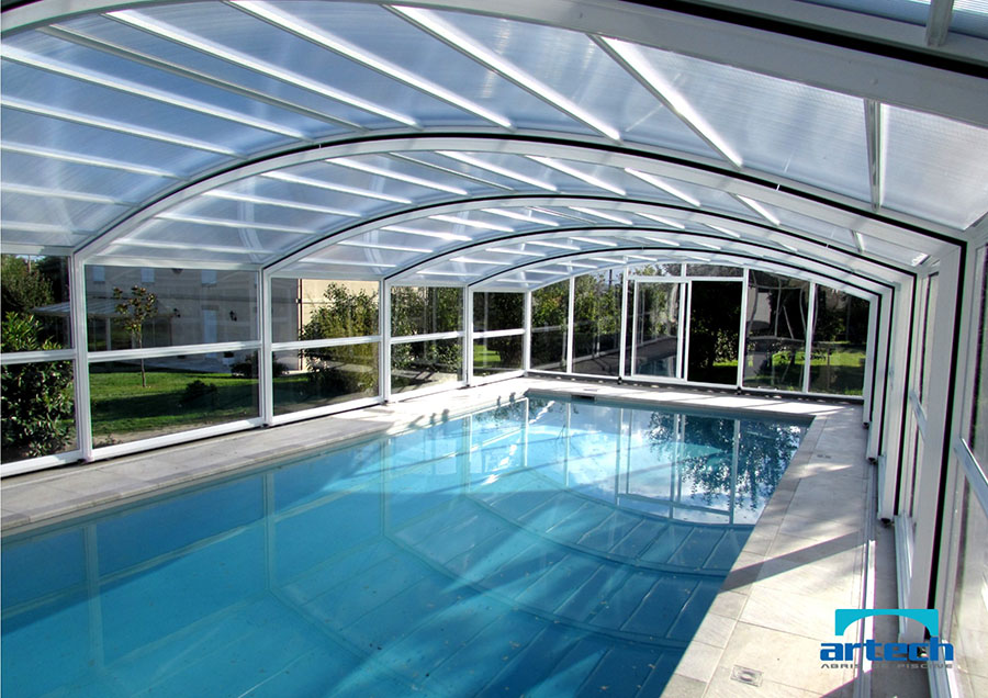 Abris artech fabricant abri piscine toulouse midi for Abri haut piscine