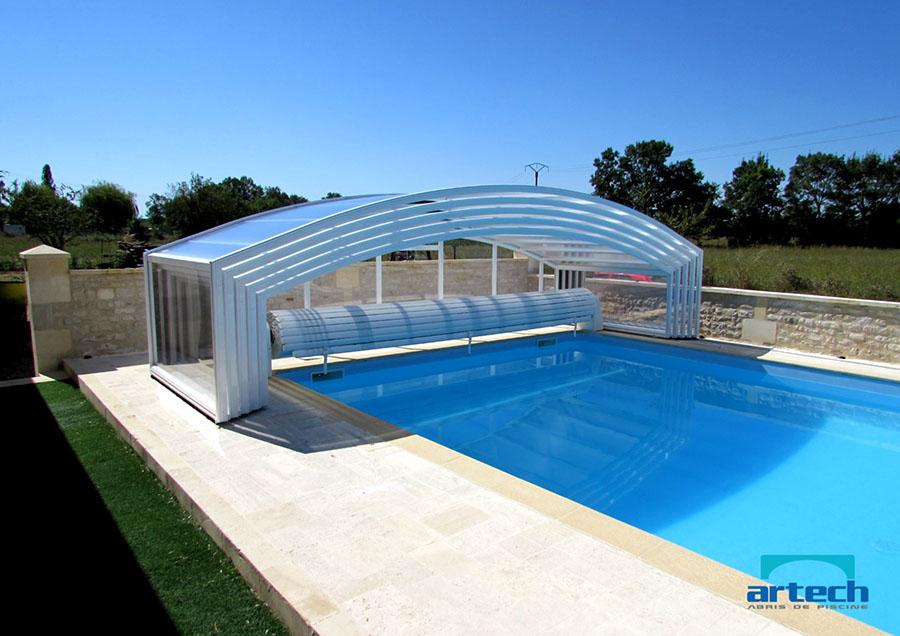 Abris artech photos abris de piscine artech for Piscine 77