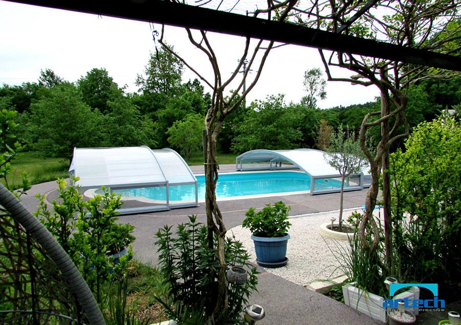 Abris artech fabricant abri piscine toulouse midi for Abri de piscine 33
