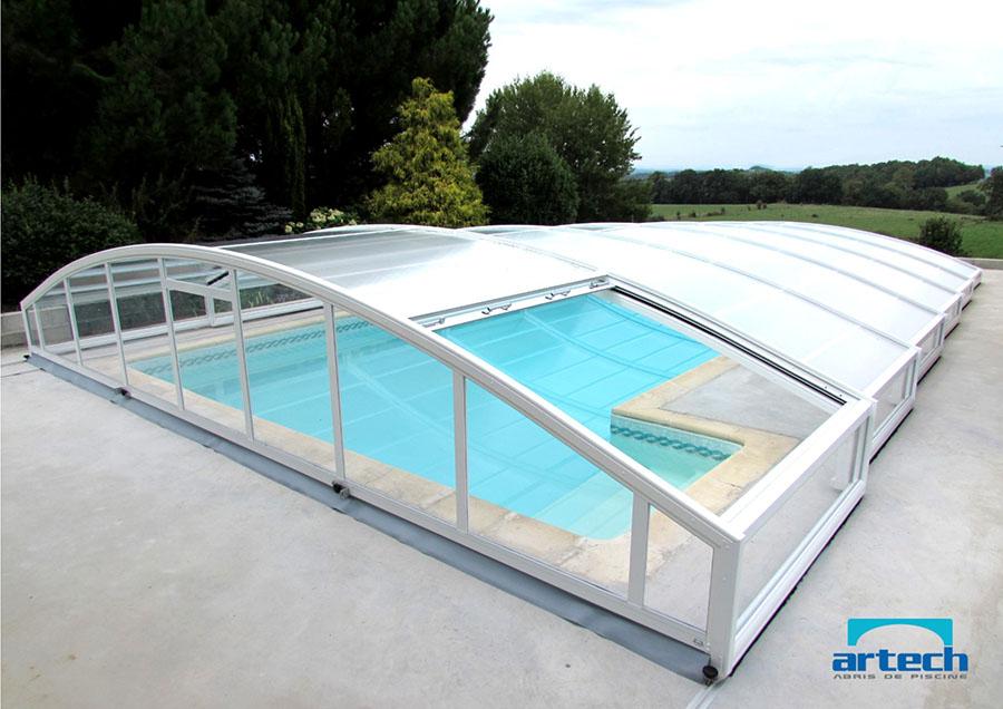 Abris artech fabricant abri piscine toulouse midi for Abri de piscine le mans