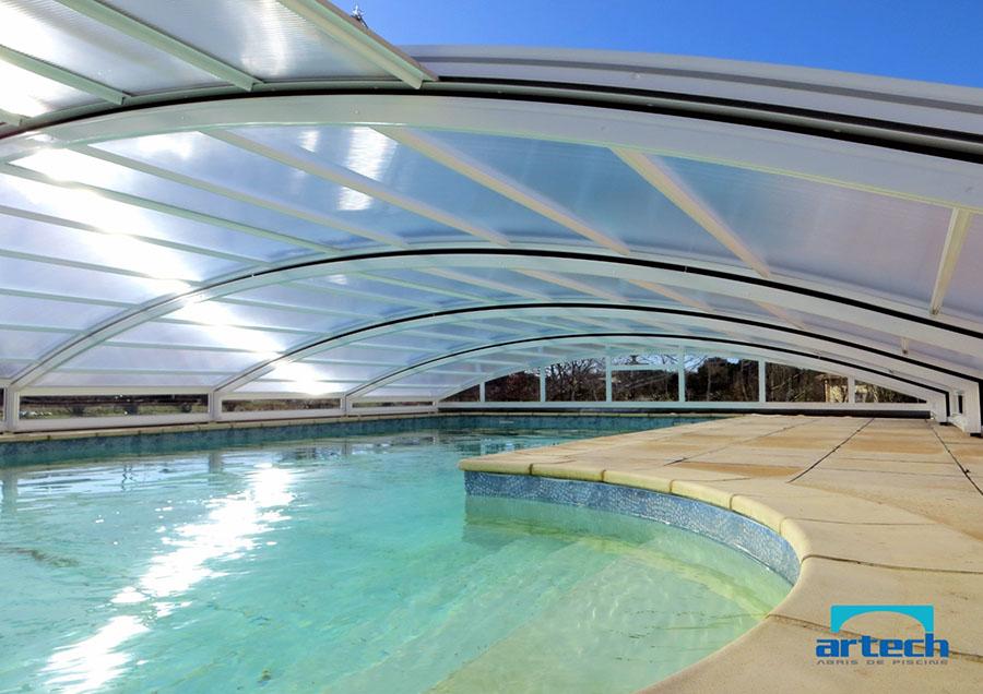 Abris artech fabricant abri piscine toulouse midi pyr n es pr sentation de nos abris de piscine - Abris de piscine bas ...