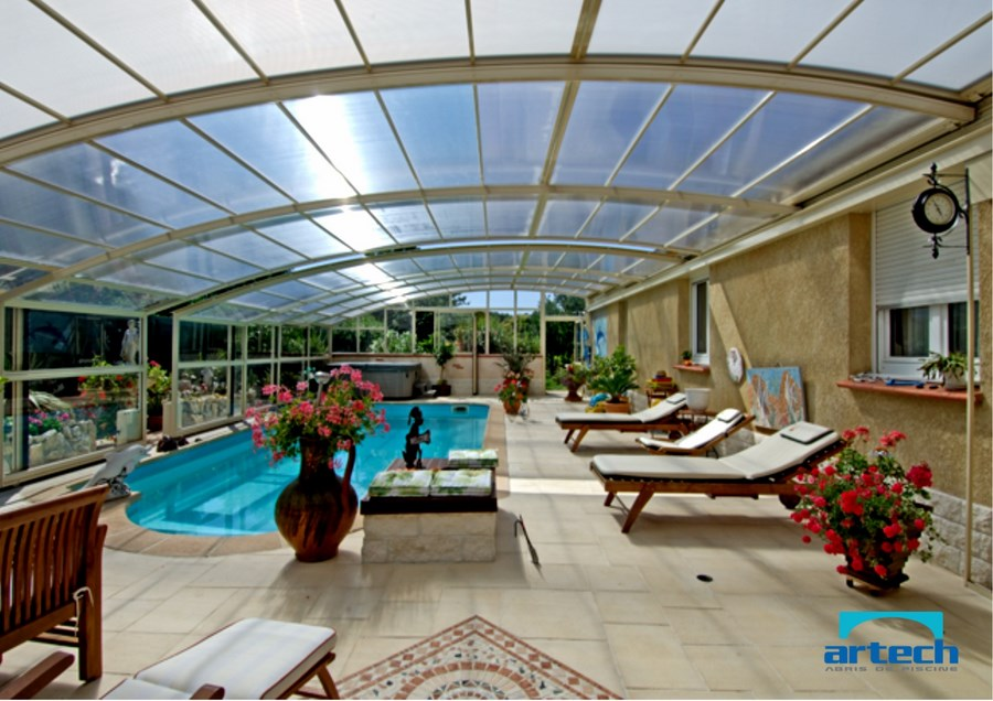Abris artech fabricant abri piscine toulouse midi for Renoval abris de piscine