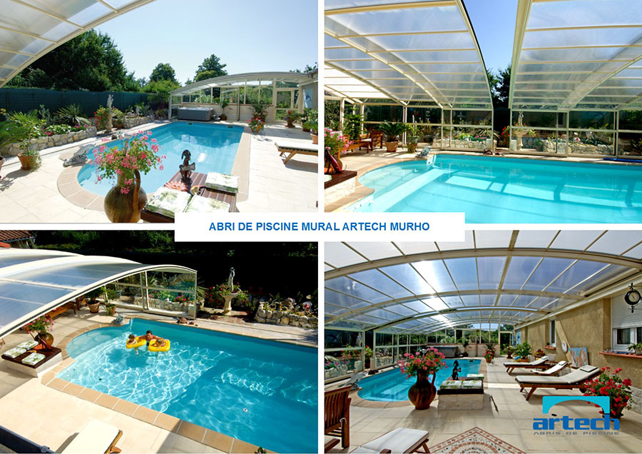 Abris artech fabricant abris de piscine toulouse midi for Piscine de grand champ