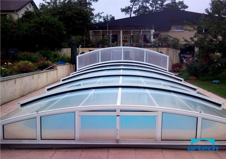 abris artech sav abri de piscine r paration motorisation remplacement toiture polycarbonate. Black Bedroom Furniture Sets. Home Design Ideas