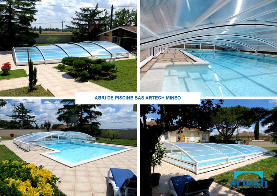 Abris artech fabricant abris de piscine toulouse midi pyr n es grand sud - Abris de piscine bas ...